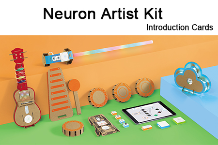 Makeblock Neuron Artist Kit Introduction Cards