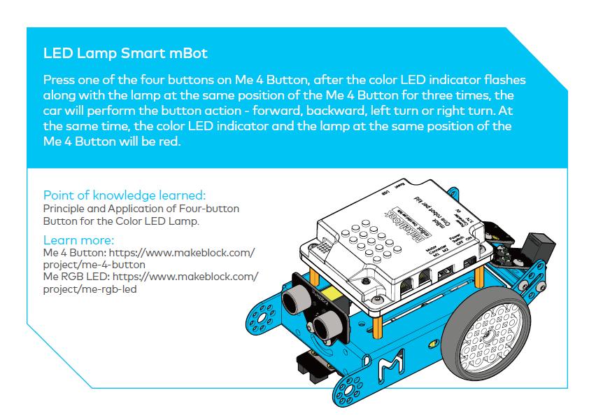 LED Lamp Smart mBot