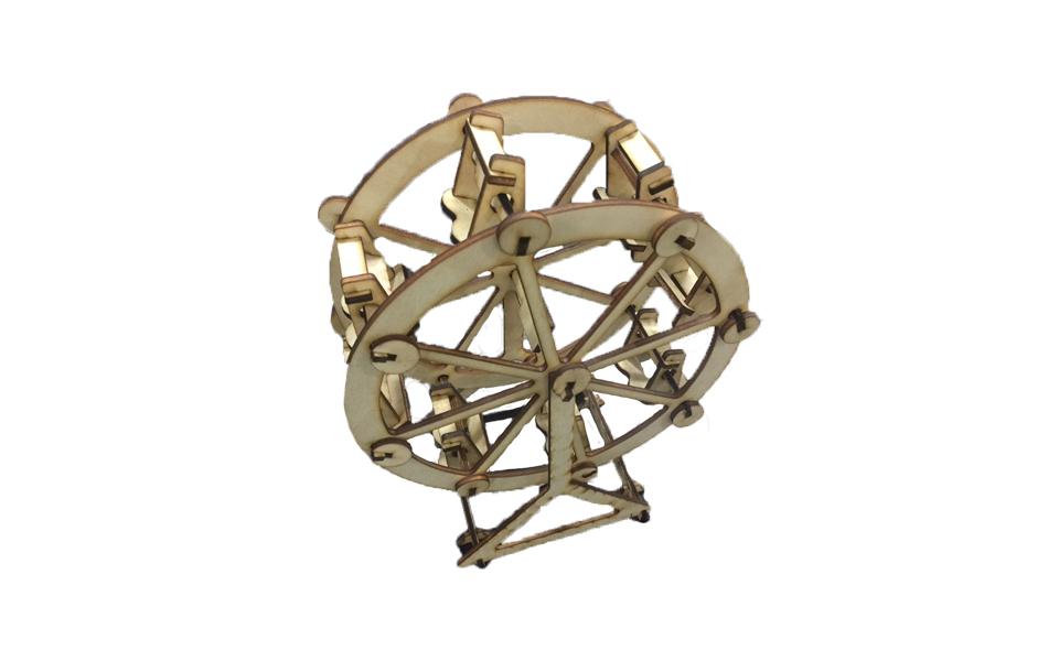 LaserBox Creation — Ferris wheel