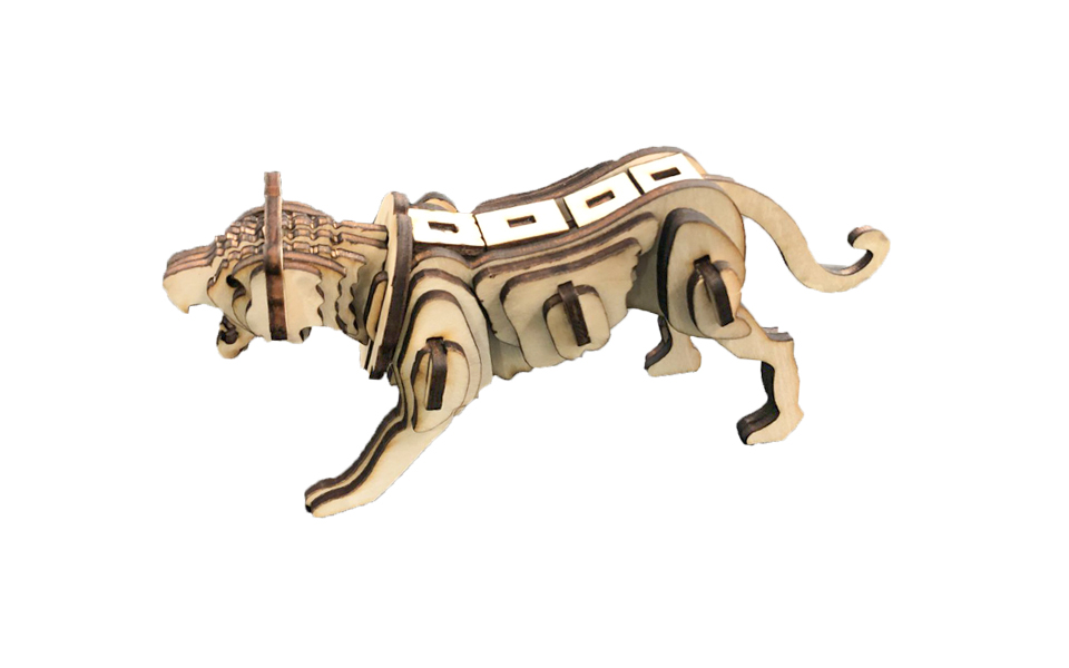 LaserBox Creation — Tiger