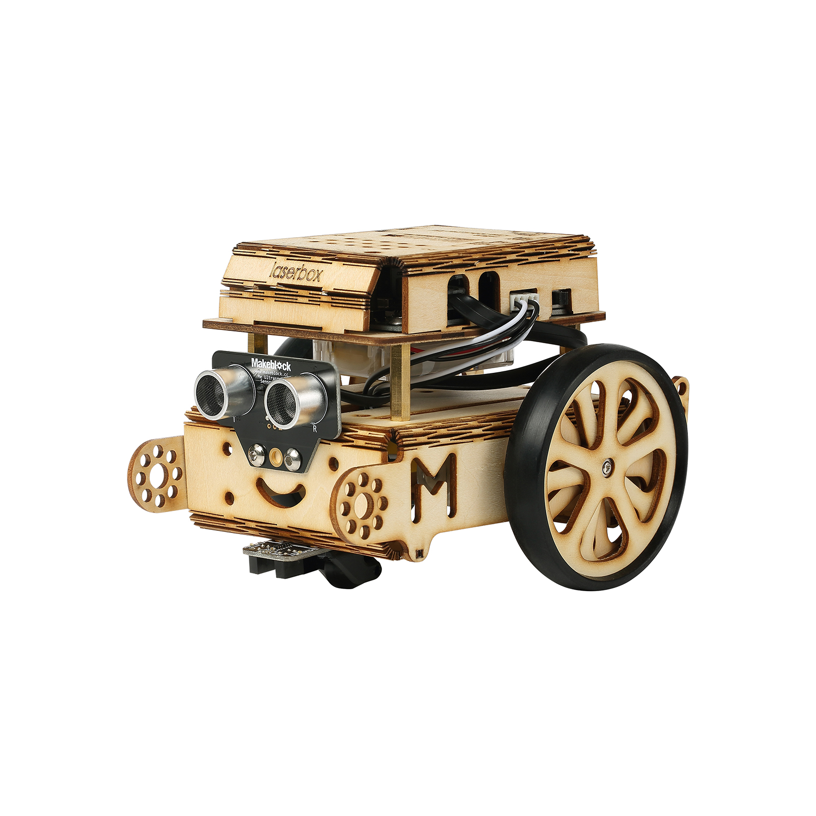 Laserbox-Wooden mBot 3mm Basswood