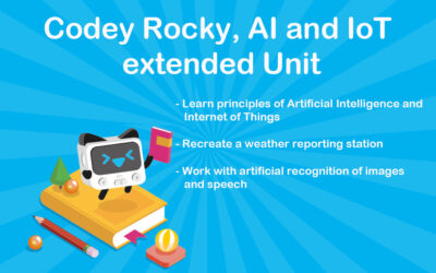 Codey Rocky AI and IoT Extended Course