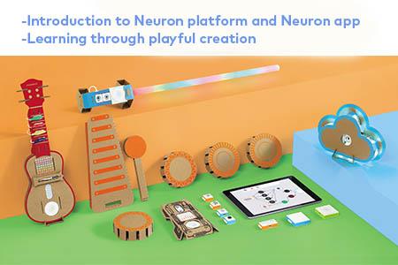Makeblock Neuron Artist Kit Introduction Cards