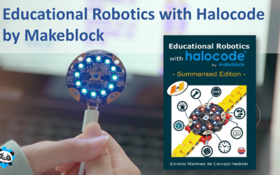 Educational Robotics with Halocode