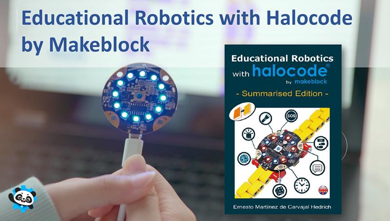 Educational Robotics with Halocode