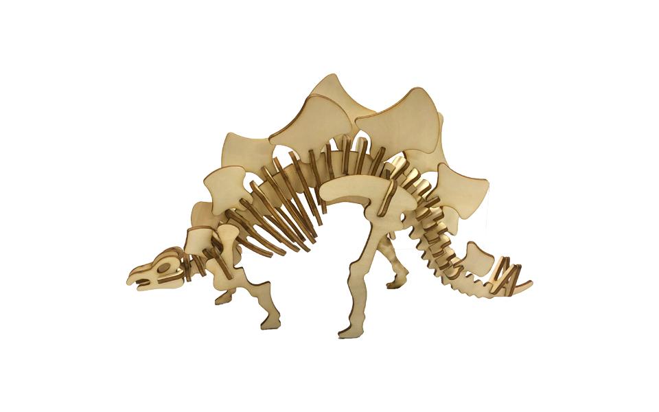 LaserBox Creation — Stegosaurus