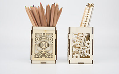 LaserBox Creation — Pen vase