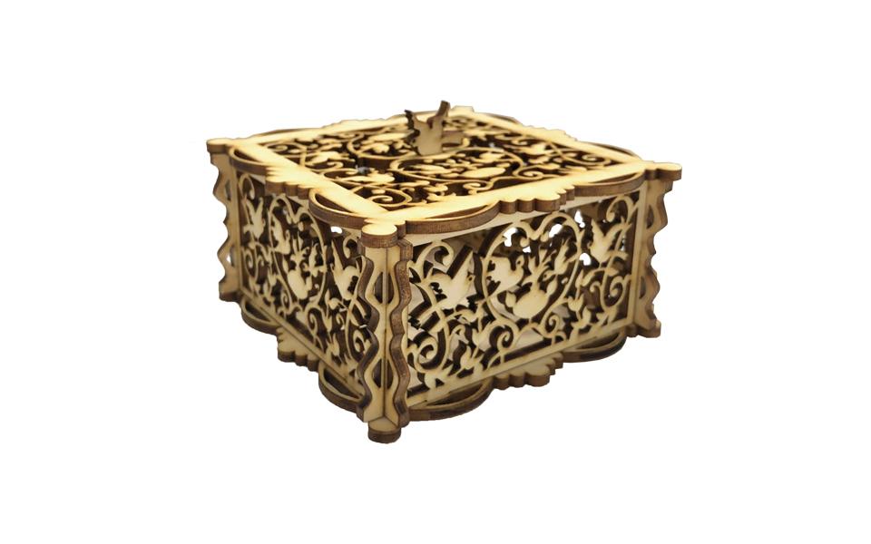 LaserBox Creation — Jewelry Box