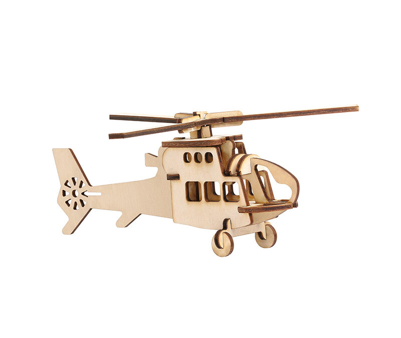LaserBox Creation — Helicopter